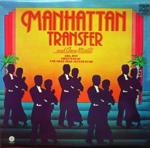 Manhattan Transfer, The: Manhattan Transfer And Gene Pistilli - Cover