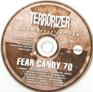 Terrorizer 186 - Fear Candy 70 - Cover