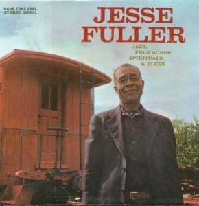 Cover - Jesse Fuller: Jazz, Folksongs, Spirituals & Blues