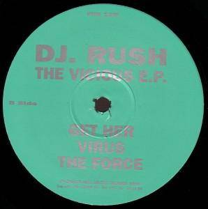 Cover - DJ Rush: Vicious E.P., The