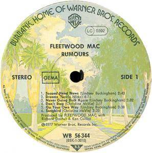 Fleetwood Mac: Rumours (LP) - Bild 3