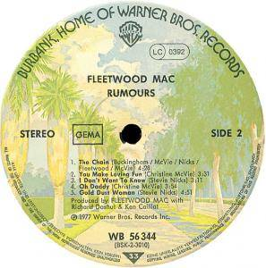 Fleetwood Mac: Rumours (LP) - Bild 4