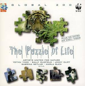 Cover - Artists United For Nature: Global 200 - The Puzzle Of Life - Artists United For Nature