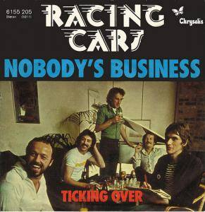 Cover - Racing Cars: Nobody's Business