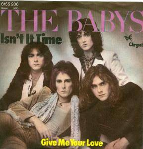 Cover - Babys, The: Isn't It Time