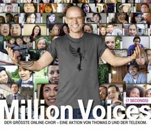 Thomas D: Million Voices (7seconds) (Single-CD) - Bild 1