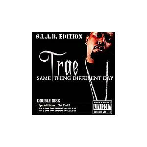 Cover - Trae: Same Thing Different Day (S.L.A.B. Edition)