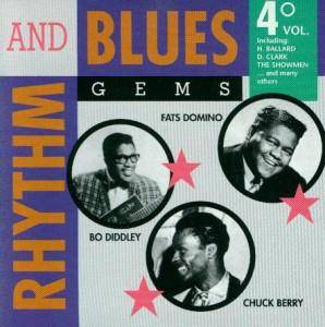 Cover - Big Moose & The Jams: Rhythm And Blues Gems Vol. 4