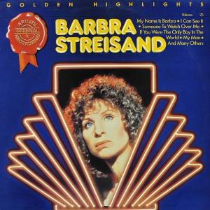 Cover - Barbra Streisand: Golden Highlights Volume 34 - Christmas Album
