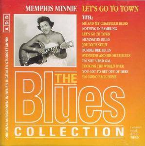 Cover - Memphis Minnie: Let's Go To Town