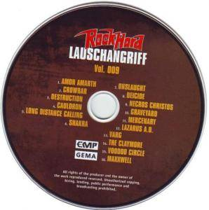 Rock Hard - Lauschangriff Vol. 009 (CD) - Bild 3