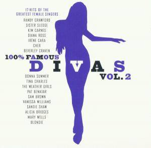 Cover - Sam Brown: 100% Famous Divas Vol. 2