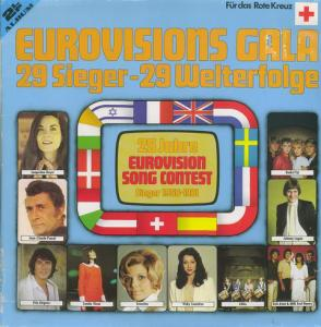 Eurovisions Gala - 29 Sieger - 29 Welterfolge - Cover