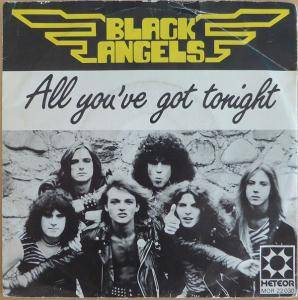 Cover - Black Angels: All You've Got Tonight