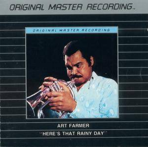 Cover - Art Farmer: Here's That Rainy Day