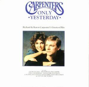 The Carpenters: Only Yesterday - Cover