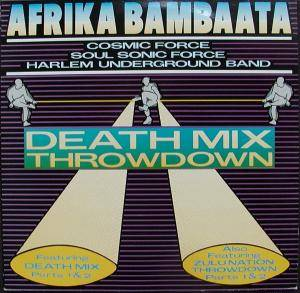 Cover - Afrika Bambaataa: Death Mix Throwdown, The