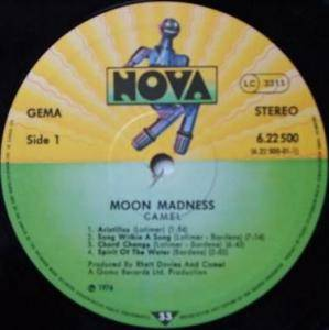 Camel: Moonmadness (LP) - Bild 3