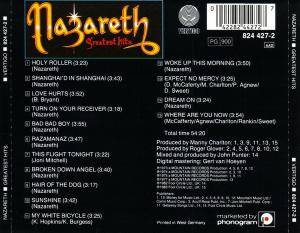 Nazareth: Greatest Hits (CD) - Bild 2