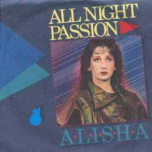 Alisha: All Night Passion - Cover