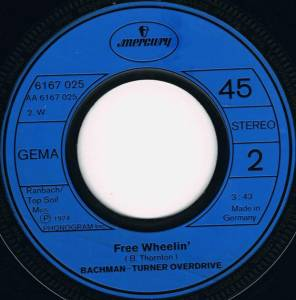"Bachman-Turner Overdrive: You Ain't Seen Nothin' Yet (7"") - Bild 4"