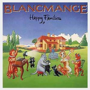 Blancmange: Happy Families - Cover