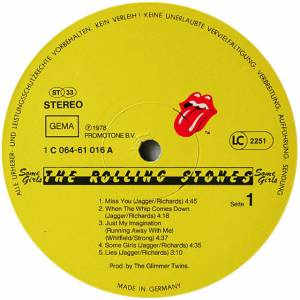 The Rolling Stones: Some Girls (LP) - Bild 5