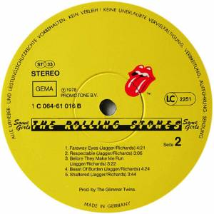 The Rolling Stones: Some Girls (LP) - Bild 6