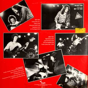 Rory Gallagher: Top Priority (LP) - Bild 2