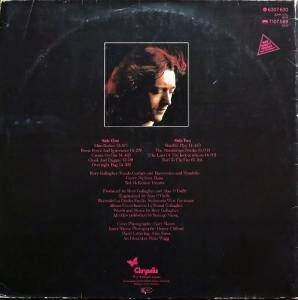 Rory Gallagher: Photo-Finish (LP) - Bild 4