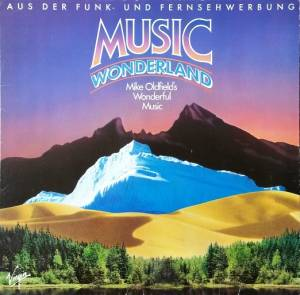 Mike Oldfield: Music Wonderland - Cover