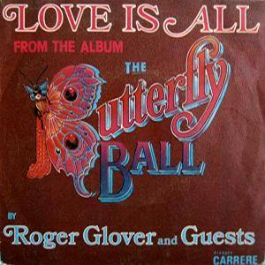 Roger Glover And Guests: Love Is All - Cover