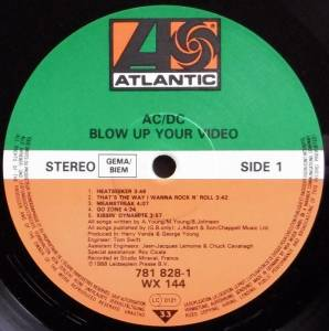 AC/DC: Blow Up Your Video (LP) - Bild 3