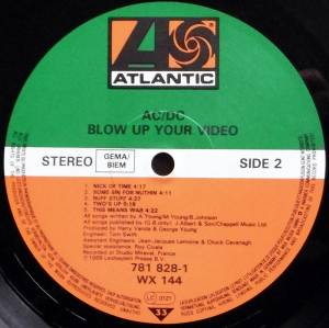 AC/DC: Blow Up Your Video (LP) - Bild 4