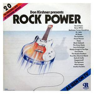 Cover - Five Man Electrical Band: Don Kirschner Presents Rock Power