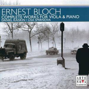 Cover - Ernest Bloch: Complete Works For Viola & Piano