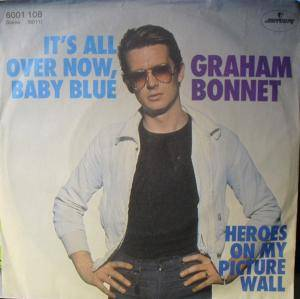 Cover - Graham Bonnet: It's All Over Now, Baby Blue