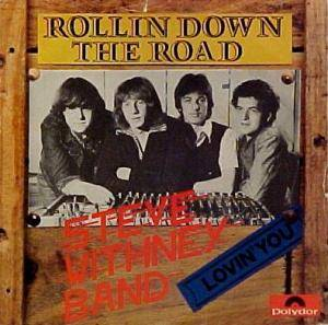 Cover - Steve Whitney Band: Rollin' Down The Road