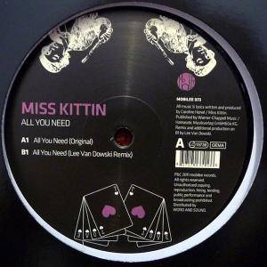 Cover - Miss Kittin: All You Need