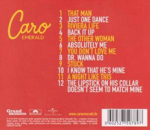 Caro Emerald: Deleted Scenes From The Cutting Room Floor (CD) - Bild 2