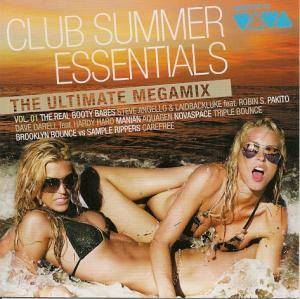 Cover - Manian: Club Summer Essentials Vol. 1 - The Ultimate Megamix