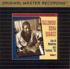 Cover - Thelonious Monk Quartet: Live At Monterey Jazz Festival '63 Vol. 2