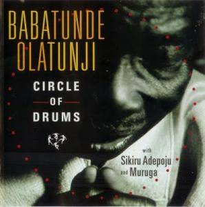Babatunde Olatunji: Circle Of Drums - Cover