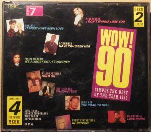 Wow! 90 Simply The Best Of The Year 1990 - Cover