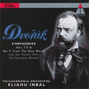 Antonín Dvořák: Symphonies Nos. 7, 8 & No. 9 From The New World - Cover