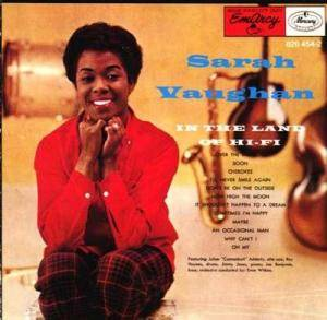 Cover - Sarah Vaughan: In The Land Of Hi-Fi