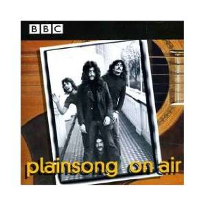 Cover - Plainsong: On Air