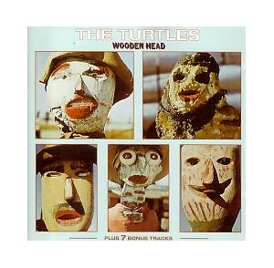 Cover - Turtles, The: Wooden Head