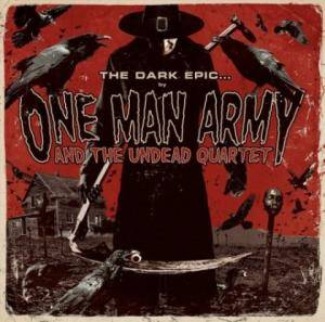One Man Army And The Undead Quartet: Dark Epic..., The - Cover