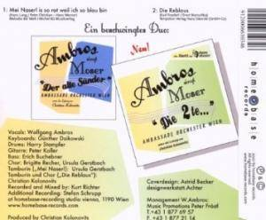 Wolfgang Ambros: Mei Naserl (Single-CD) - Bild 2